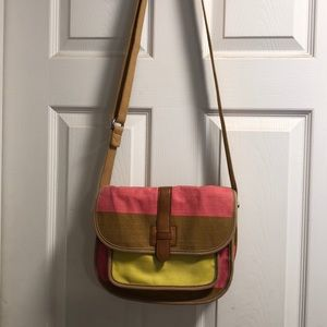 Cute Canvas Fossil Crossbody